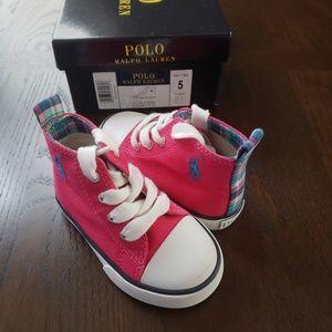 Ralph Lauren Hi-Top Sneakers